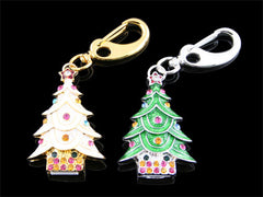 Jewel X'mas Tree Keychain USB Drive
