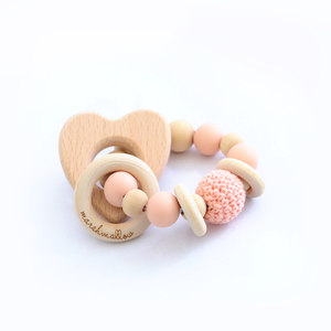Teether Animal Bracelet Rattle