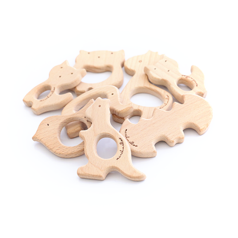 Teether Wooden Animal
