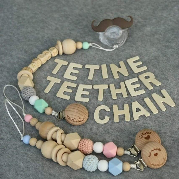 Teether Pacifier Chain