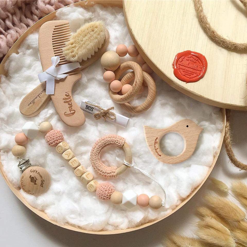 Baby Essentials Bundle - Peach