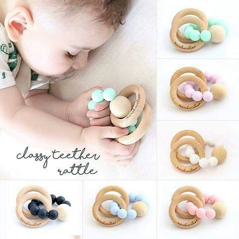 Teether Bracelet Rattle