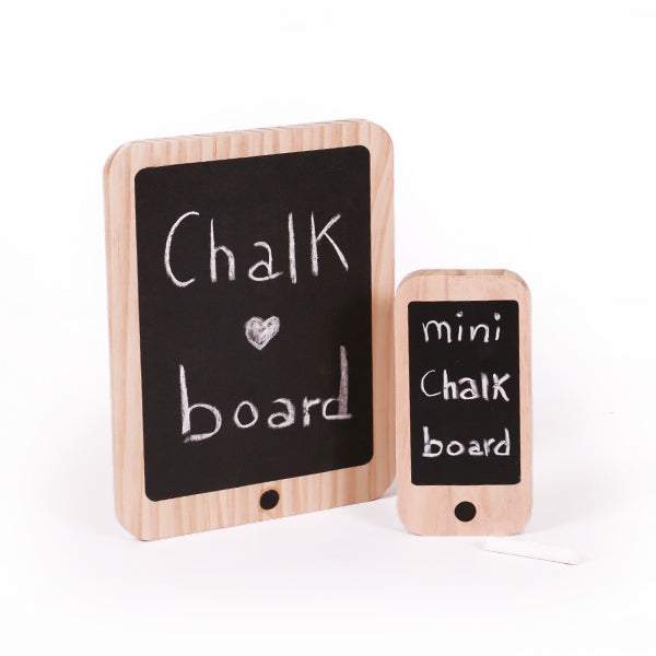 Wooden Chalk Iphone