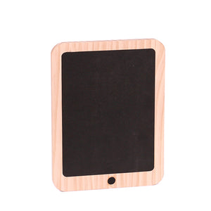 Wooden Chalk Board Ipad