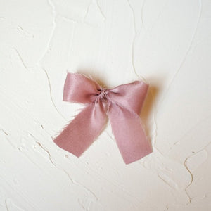 The French Silk Bow | Antique Purple