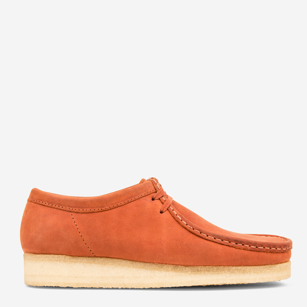 Clarks originals wallabee rust leather the hip store