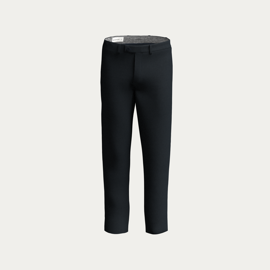 NATURAL PERFORMANCE KNIT STRETCH PANT - Navy