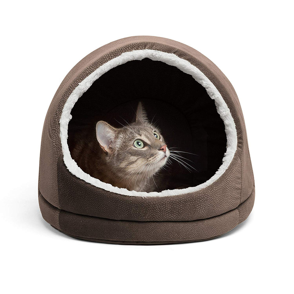 Best Friends by Sheri Kitty Hut in Ilan, Dark Chocolate, One Size