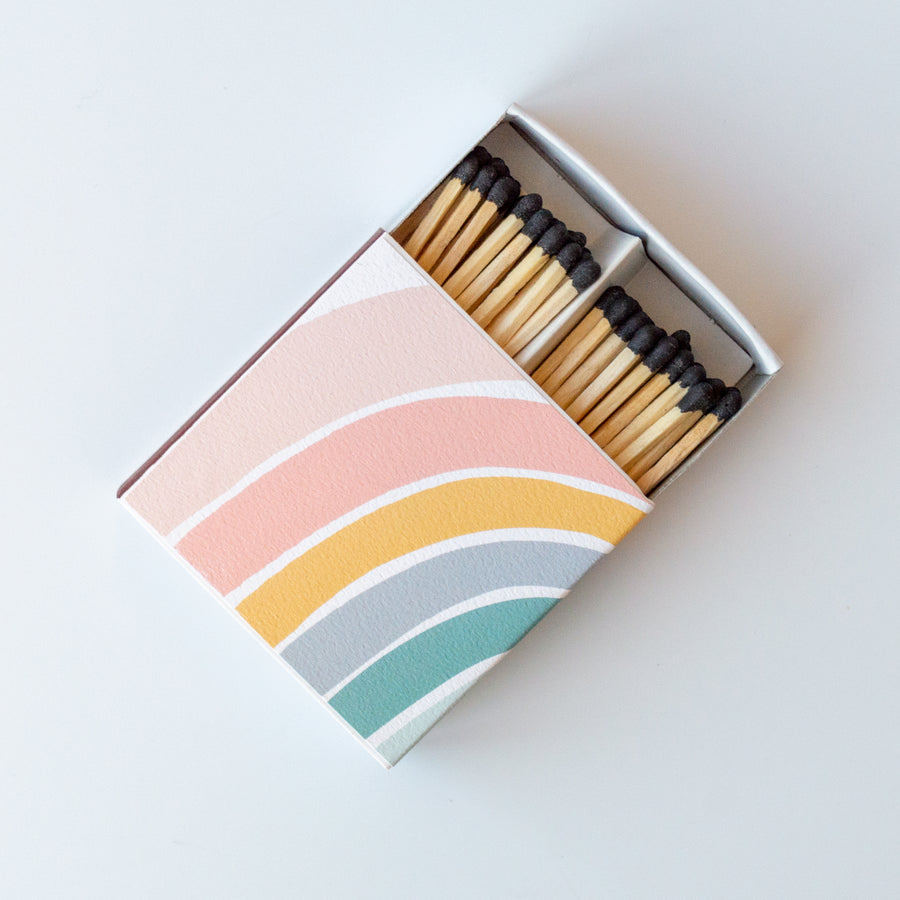 Rainbow - Square Matchbox
