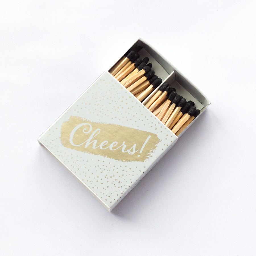 Cheers - Square Matchbox
