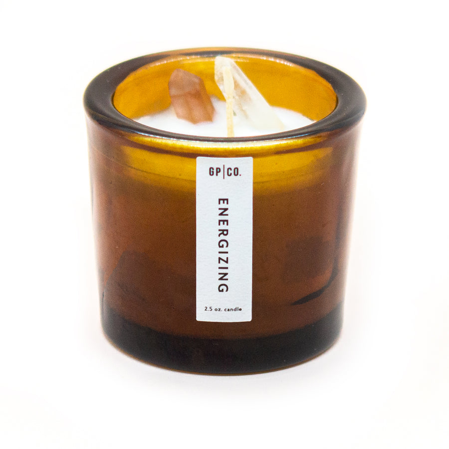 Energizing 2.5 oz. Prism Candle