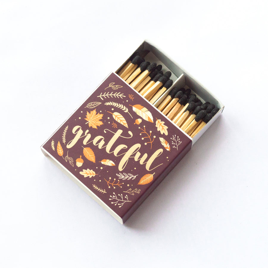 Grateful - Square Matchbox