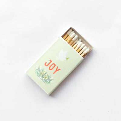 Peace and Joy - Small Matchbox