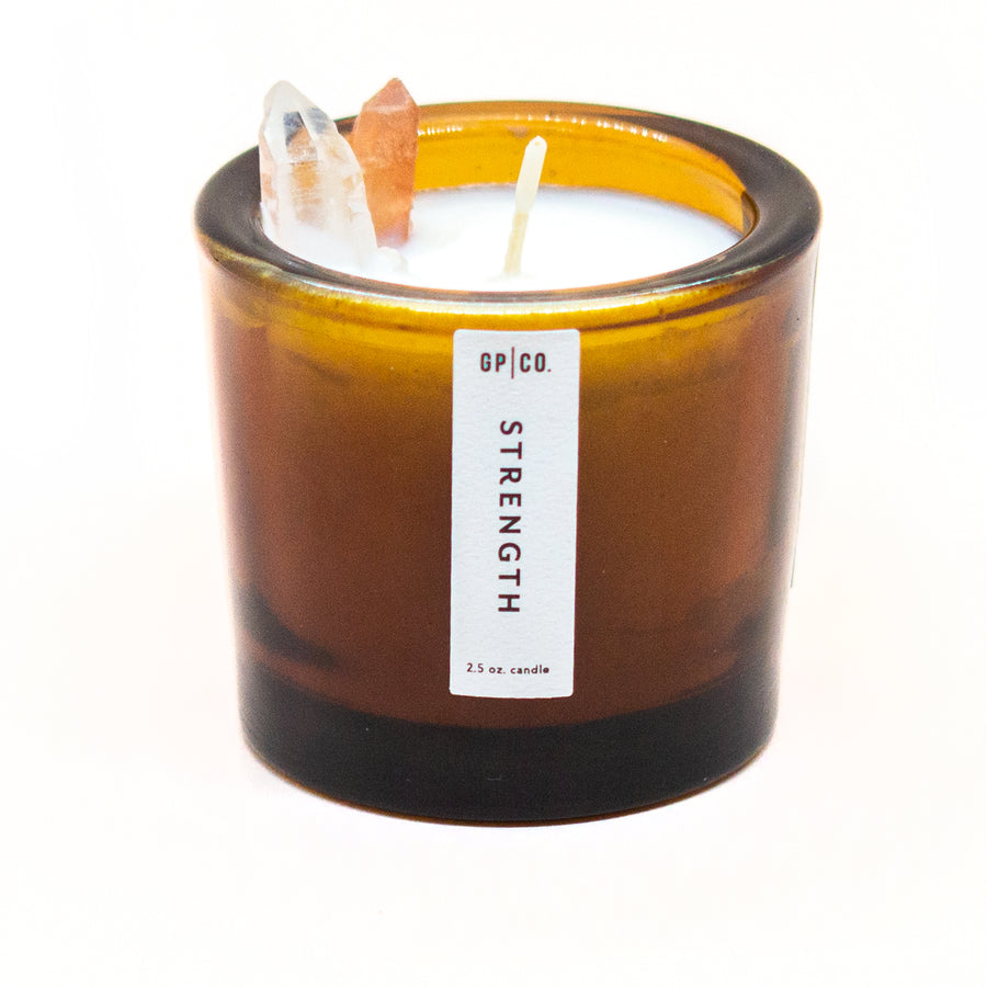 Strength 2.5 oz. Prism Candle