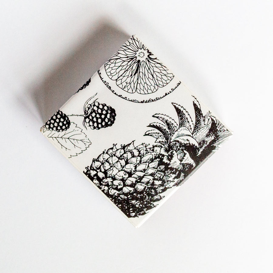 Vintage Fruits - Square Matchbox