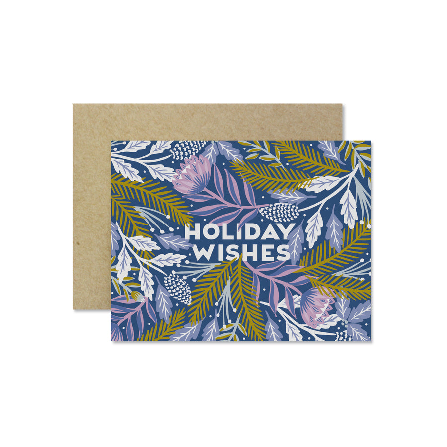 Holiday Wishes — Seasonal Greeting Card