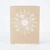 "Blank Philadelphia ""Jawn Sweet Jawn"" Snowflake Holiday Greeting Card"
