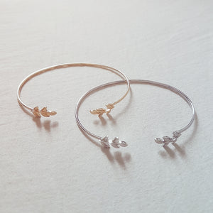 Free Gift / Olive Leaf Cuff Bracelet (Not For Sale)