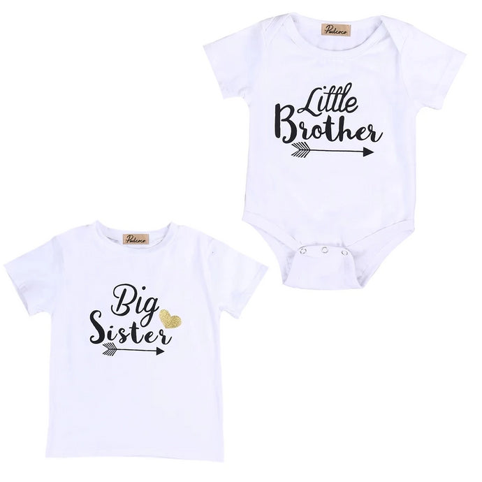Big Sister, Little Brother T-Shirt - Kids Shoe Shack