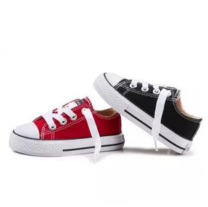 Amari Canvas Sneakers - Kids Shoe Shack