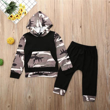 Load image into Gallery viewer, Camo Hoodie Set - Kids Shoe Shack