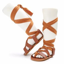 Load image into Gallery viewer, Alexa Gladiator Sandals - Kids Shoe Shack