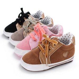 Casual Suede Sneakers - Kids Shoe Shack
