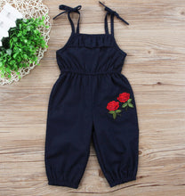 Load image into Gallery viewer, Sleeveless Flower Romper - Kids Shoe Shack