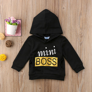 Mini Boss Hoodie - Kids Shoe Shack