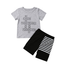 Load image into Gallery viewer, Crossword Short Set - Kids Shoe Shack