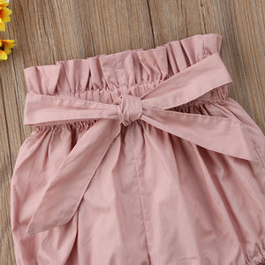 Bow Knot Belt Bloomers - Kids Shoe Shack