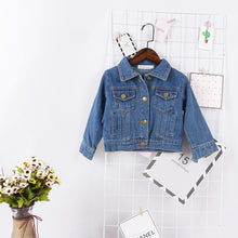 Load image into Gallery viewer, Casual Denim Jean Jacket - Kids Shoe Shack