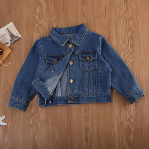 Casual Denim Jean Jacket - Kids Shoe Shack