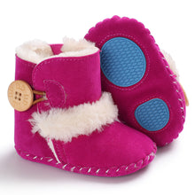 Load image into Gallery viewer, Suede Button Boots - Kids Shoe Shack