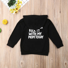 Load image into Gallery viewer, Kick It With My Mom Hoodie - Kids Shoe Shack