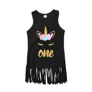 One Print Sleeveless Shirt - Kids Shoe Shack