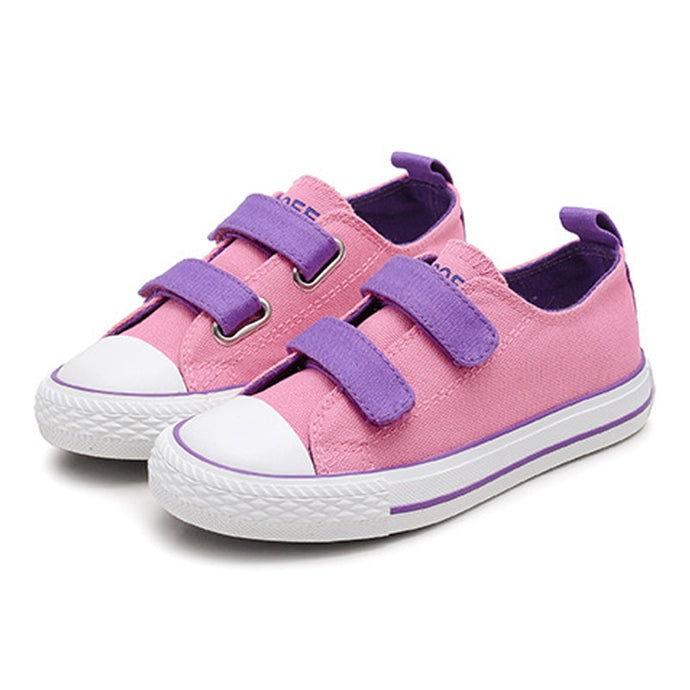 Patchwork Canvas Shoes - Kids Shoe Shack