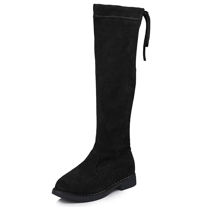 Andy Knee High Boots - Kids Shoe Shack