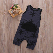 Load image into Gallery viewer, Black Star Romper - Kids Shoe Shack