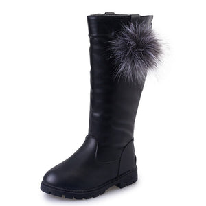 Veronica Knee High Boots - Kids Shoe Shack