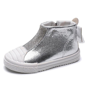 Evelyn Studded Sneaker - Kids Shoe Shack