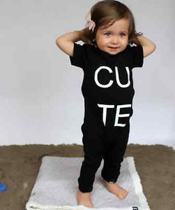 Cute Short Sleeve Jumpsuit - Kids Shoe Shack