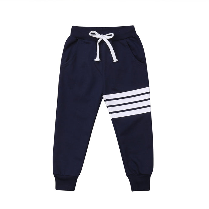Striped Sweatpants - Kids Shoe Shack