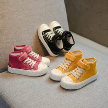 Load image into Gallery viewer, Canvas Hightops - Kids Shoe Shack