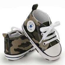 Load image into Gallery viewer, Camo Canvas Hightop - Kids Shoe Shack