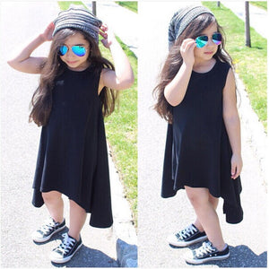 Dresses maxi gray - Kids Shoe Shack