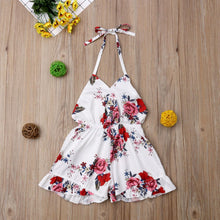 Load image into Gallery viewer, Floral Holter Romper - Kids Shoe Shack