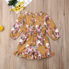 Load image into Gallery viewer, Long Sleeve Floral Romper - Kids Shoe Shack