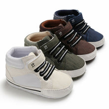 Load image into Gallery viewer, Casual Hightop Sneakers - Kids Shoe Shack
