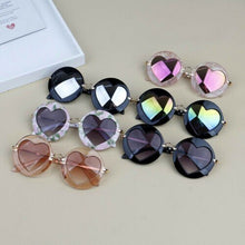 Load image into Gallery viewer, Heart Shaped Sunglasses - Kids Shoe Shack